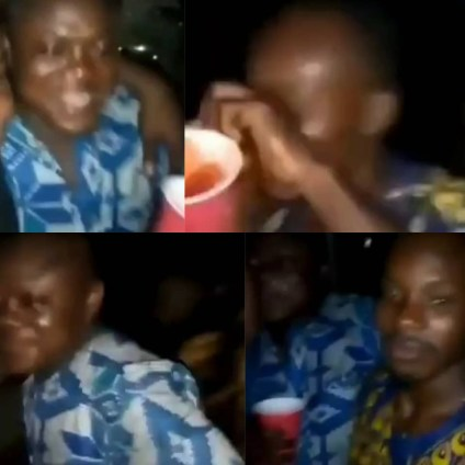 The Moment A Man Slipped Something Into Another Man's Drink As They Party Together