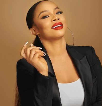 What I Think Whenever I Sees A Pregnant Woman - Toke Makinwa Reveals