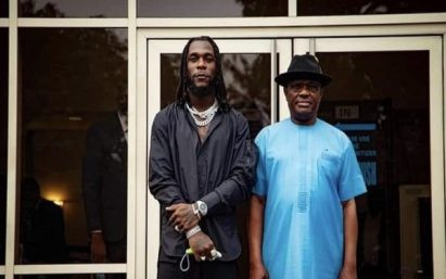 Governor Wike Decorates Burna Boy With Rivers' Second Highest Award