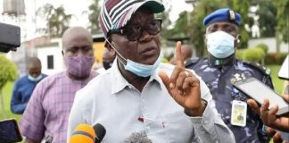 How Benue Governor, Ortom Ran 1km On Foot To Escape Death During Herdsmen Attack