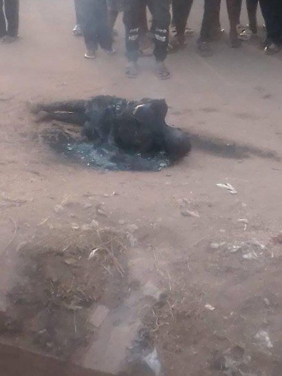 Mob Sets Young Man Ablaze For Stealing N2000 In Benue