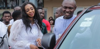 Newly Wed Nigerian Man Surprises His Pastor With A Brand New SUV