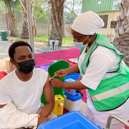 President Buhari's Chief Of Staff, Garba Shehu, Femi Adesina, Others Receive COVID-19 Vaccine