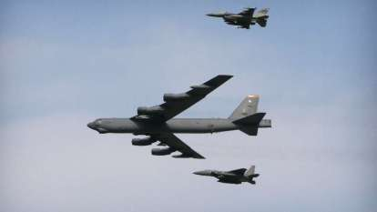 US flies B-52 bombers over Mideast again amid tensions with Iran
