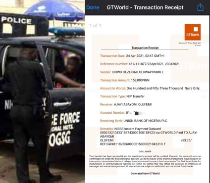 3 Policemen Arrested For Extorting N153,000 From LASU Student