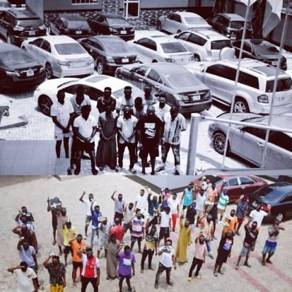 33 Suspected Internet Fraudsters Arrested In Abeokuta