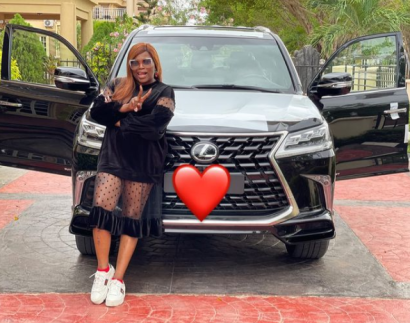 Actress Funke Akindele Bello Acquires Lexus SUV