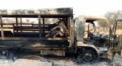 Did Nigerian Army Published Old Photos Of Destroyed Boko Haram Vehicles To Claim Damasak Victory