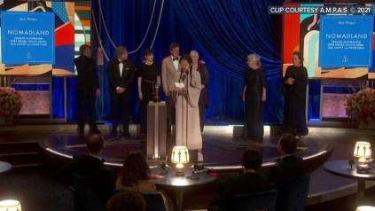 Full List Of Winners At 2021 Oscars