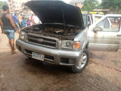 Gunmen Destroy Vehicles In Anambra Community