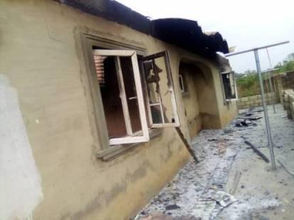 How Hoodlums Razed N10 Million House During Kwara Land Dispute