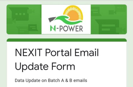 How To Resolve Not A Valid Email Of A Beneficiary Issue On N-EXIT