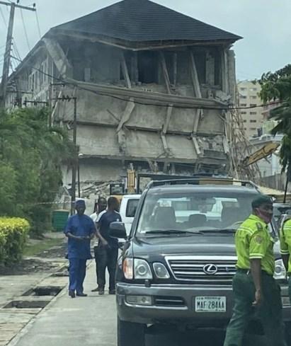 Lagos State Govt Demolish Sir Olu Okeowo's Property