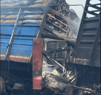 Man Burnt To Death In An Accident In Kwara State