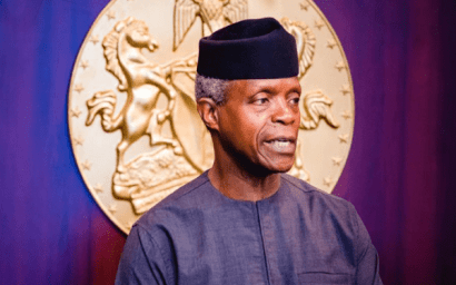 Nigeria Can't Afford Another Civil War - Vice President, Osinbajo Warns