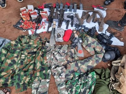 See More Photos As Security Agents Kill IPOB Militia Commander, Others