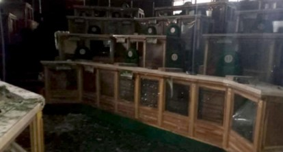 See Photos As Fire Gut Katsina House Of Assembly