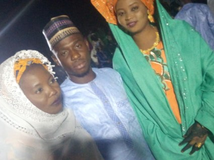See Photos As Man Marries Two Wives Same Day In Abuja