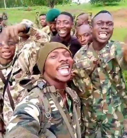 Soldiers Sing Anti-Boko Haram Song In New Video
