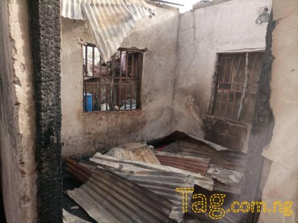 Two Children Burnt To Death As Fire Razes House In Niger State