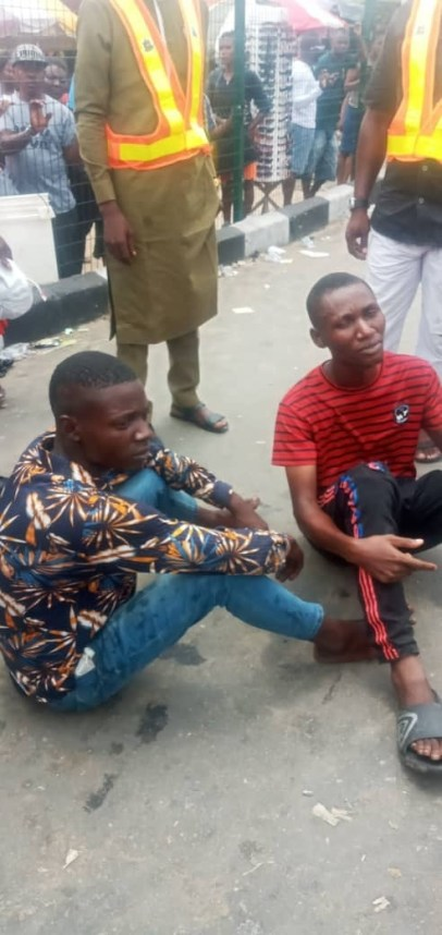 Vigilante Arrest 2 Notorious Criminals Terrorizing Market In Bayelsa State