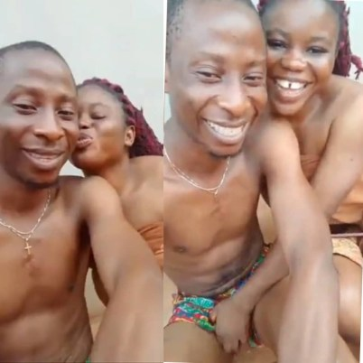 You Won't Believe What This Two Ghanaian lovers Were Caught Doing In The Private