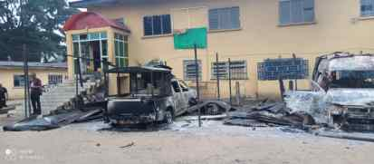 Gunmen Raze Another Police Station, Magistrate, High Courts In Imo