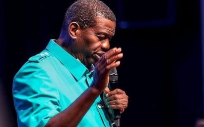 Pastor Adeboye Seen Preaching At 'Holy Communion Service' After Son's Demise