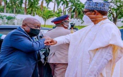 President Buhari Receives Ghana President Akufo-Addo
