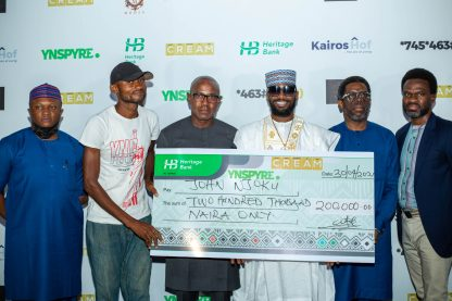 Singer D'banj's Cream Platform And Heritage Bank Dole Out Millions At April 2021 Draw As New Winners Emerge
