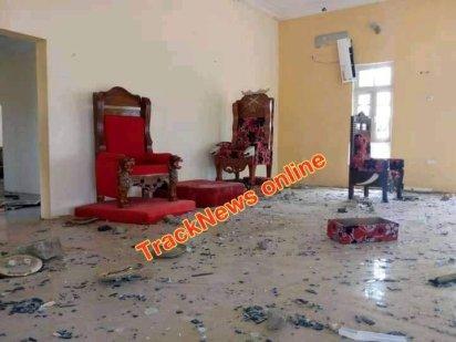 Youths Destroy Bayelsa Monarch's Palace