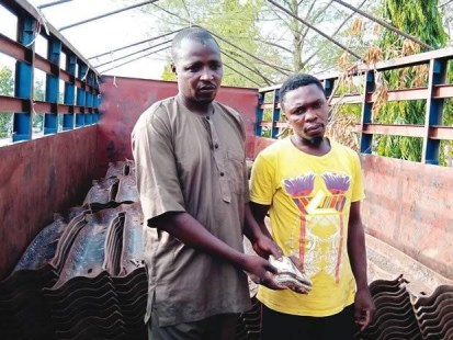 2 Suspects Arrested For Vandalizing Rail Tracks And Attempting To Bribe Police Officers In Nasarawa