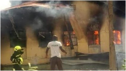 Fire Razes Store Of Yola's Main Hospital