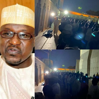 Photos, Video From The Burial Of Ex-Presidential Aide, Ahmed Gulak