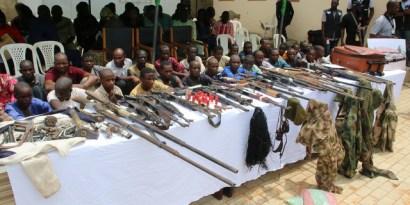 Police Arrest 10 Gunmen, Recover Firearms, Ammunition In Enugu