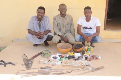 Police Arrest 3 Suspects For Kidnapping 2 Children, Recover N230,000, Assorted Charms In Niger State