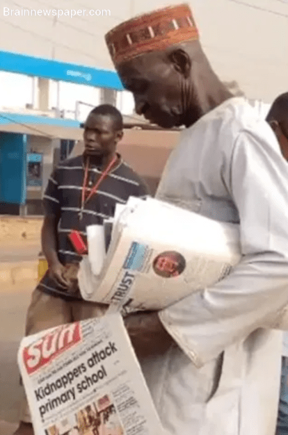 Built A House And Trained My 15 Children from Selling Papers – Vendor