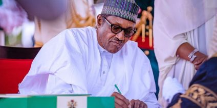 President Buhari Seeks Senate's Confirmation Of Yahaya As Chief Of Army Staff