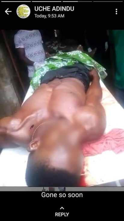 See Photos As Motorcyclist Stabs Man To Death In Imo