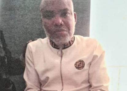 Tight Security As Federal Govt Produces Nnamdi Kanu In Court