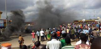 Youths Attack Fulani Herdsmen, Destroy Police Station In Kwara