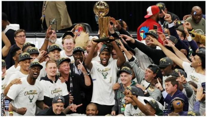 NBA Finals: Milwaukee Bucks beat Phoenix Suns to win first title for 50 years