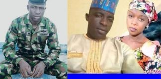 See Photos Of Nigerian Navy Personnel Killed By Bandits 3-Month After His Wedding