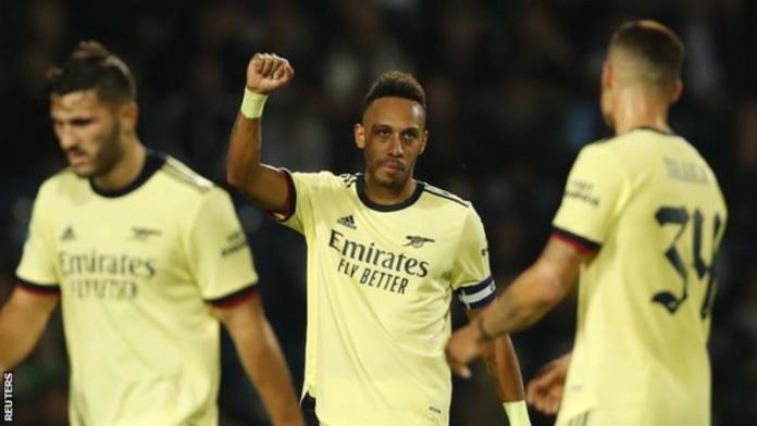 Aubameyang Hat-Trick Helps Arsenal Thrash West Brom