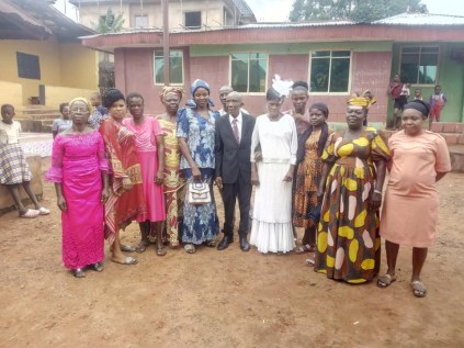 99-Year-Old Nigerian Man Weds His 86-Year-Old Partner In Church