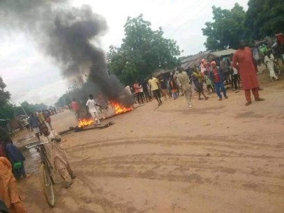 Katsina Youths Block Major Road In Protest