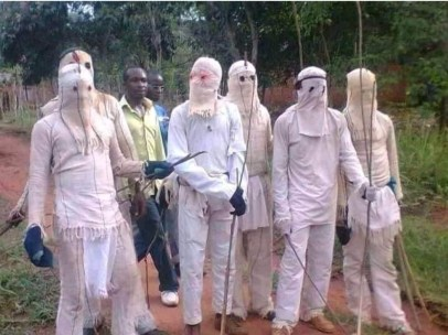See Photo As Masquerades Surface In Nsukka To Enforce Sit-At-Home Order Despite Suspension