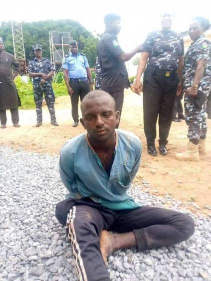 See Photos As Fulani Herdsman With 53 AK-47 Guns Gets Arrested In Nasarawa