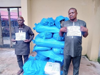 See Photos As NDLEA Arrests Ex-Military Officer, Fake Soldier For Drug Trafficking