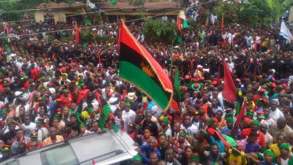 Anambra Complies With IPOB's Sit-at-Home Order Over Buhari's Visit to Imo